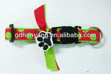 woven Nylon pet collar new dog collar