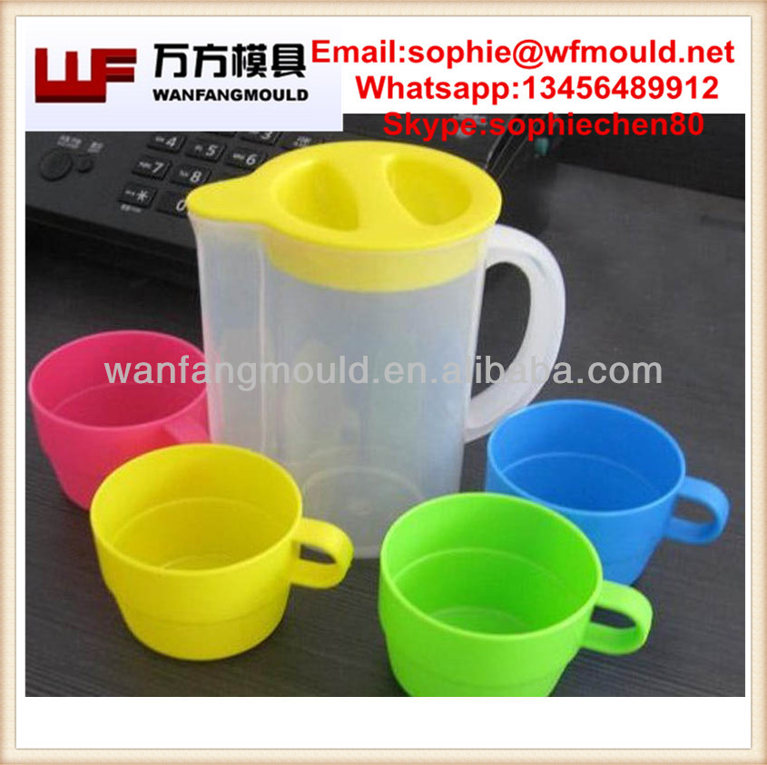 plastic water cup mold/plastic mould manufacturers in China/China supply quality products plastic household items mould