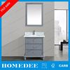 Homedee tops fashionable MDF used bathroom vanity cabinets