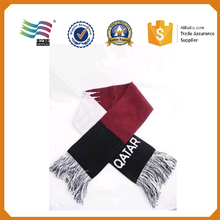 Cheap factory price usa made scarfs jacquard acrylic scarf design pattern