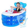 Portable bathtub 1 person inflatable jacuzzi inflatable hot tub