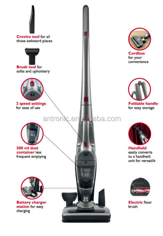 Antronic for sale rechargeable Stick Portable Vacuum Cleaner with good quality