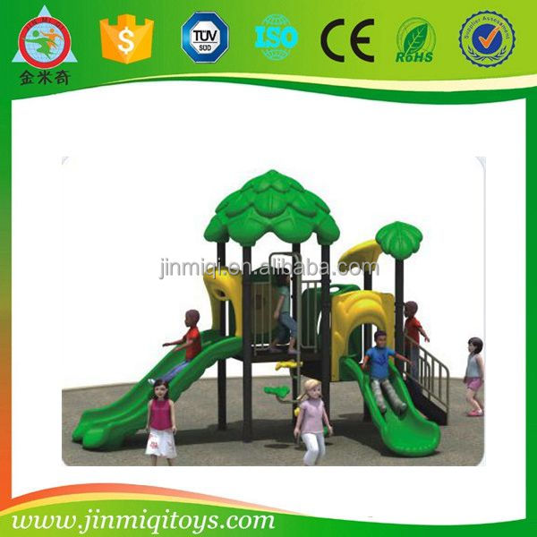 Forest Series child outdoor playground, wild park toys, custom playground slides