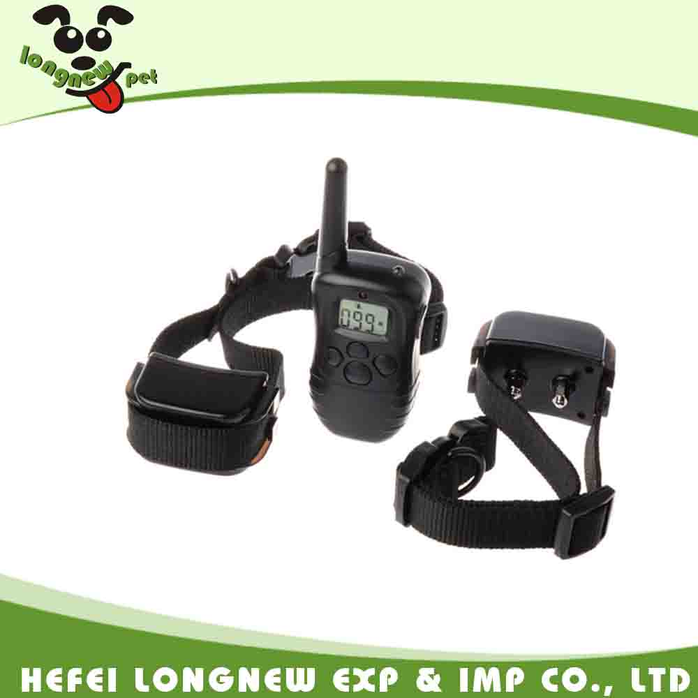 300 Yard Range Remote Rechargeable Electric Pet Dog Training Collar
