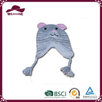 Cheap children helmet knitted hats, lovely animal hat crochet patterns