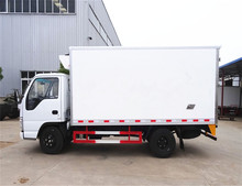 Japan top brand 4.2m refrigerator cooling van for sale 4.2 meter refrigerated truck body