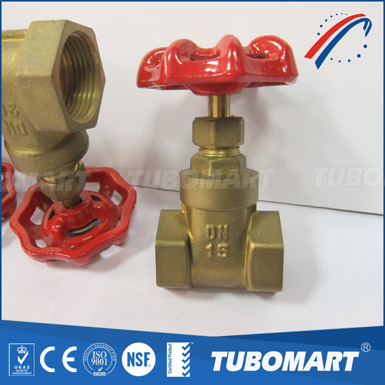 Water Gas Heater System steel handle safety forged brass valves with CE approved