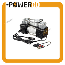 Portable Air Compressor 12V 150PSI Double Power Pump with Car Cigarette Lighter,Tire Inflator with Alligator Clamps