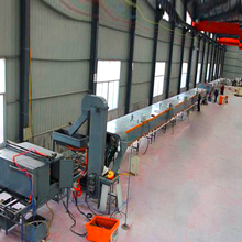 Color-stone coated metal tile production line color stone steel roof tile machine