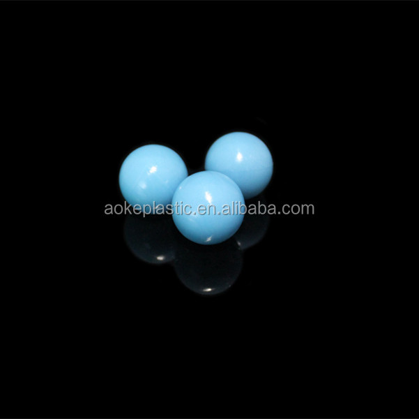 24.9mm cheap wholesale colored pp plastic solid blank ball