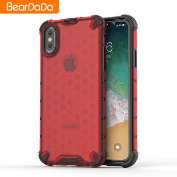 Honeycomb phone case anti drop Design for opp F11case cover