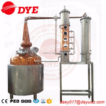 copper alcohol distillery equipment whisky making machine