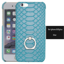 Python skin for iPhone 6 case custom,leather case for iPhone,ring for iPhone case 6s.