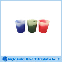 Plastic Color changing shot glass
