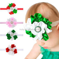 Christmas Baby Girls Bow Headband Toddler Infant Kids Hair Band Hair Accessories