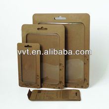 High quality brown kraft paper box for iphone 5/5s/ipad mini cover