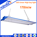 DLC premium highest subsidy 170lm/W LED Linear High Bay with 10 Year Full Performance