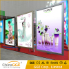 Aluminum Snap Slim LED Backlit Poster Frame Clip Poster Display Frame Advertising LED Slim Light Box