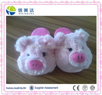 pig animal shaped room shoes
