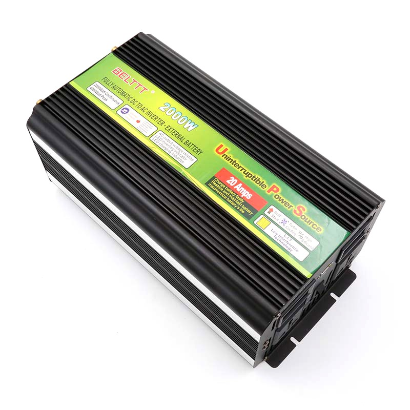 2000W <strong>DC</strong> 12V/24V/48V TO AC 110V/220V off grid modified ups battery charger inverter