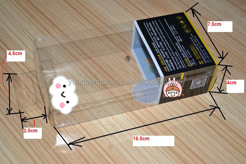 clear box with custom design for mouse , plastic clear packing box for cosmetic , gift packaging boxes