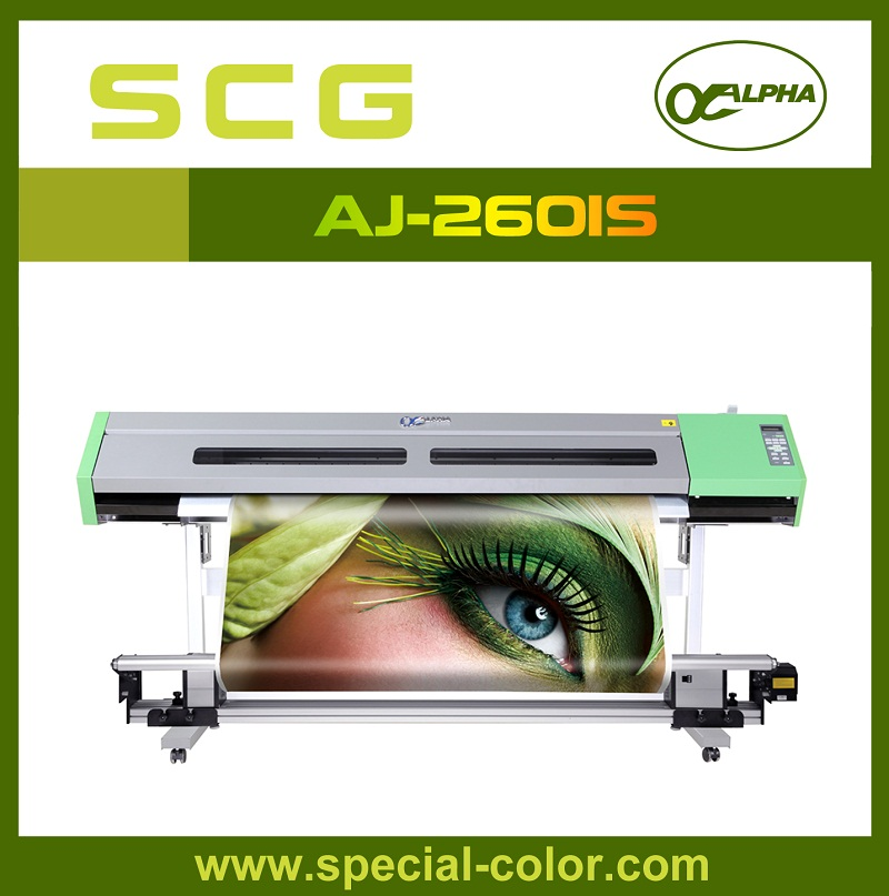 Double DX5 Heads Eco Solvent Printing Machine from factory