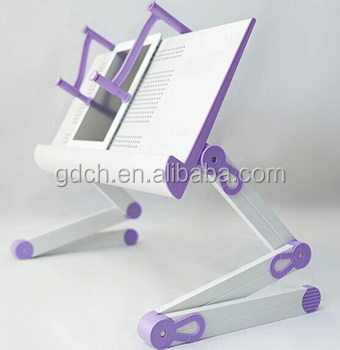 New Style Robust Portable Folding Laptop Desk in Bed