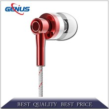 zipper earphone Factory price Headphone Headset with Remote Mic for Xiaomi mi SPORT Earphone In-Ear For Android Phone