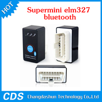 Super Mini ELM327 Bluetooth V2.1 OBD2 OBD II CAN-BUS Diagnostic Car Scanner Tool + Switch Works on Android Symbian Windows