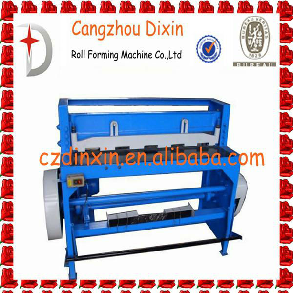 DIXIN-1.3m metal roofing sheet cutting machine made in China