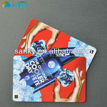 Cheap plastic laminated cards