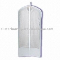 Clear PEVA garment cover bag