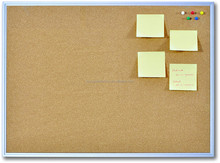 Factory design pin cork board with wooden frame in the school cork board