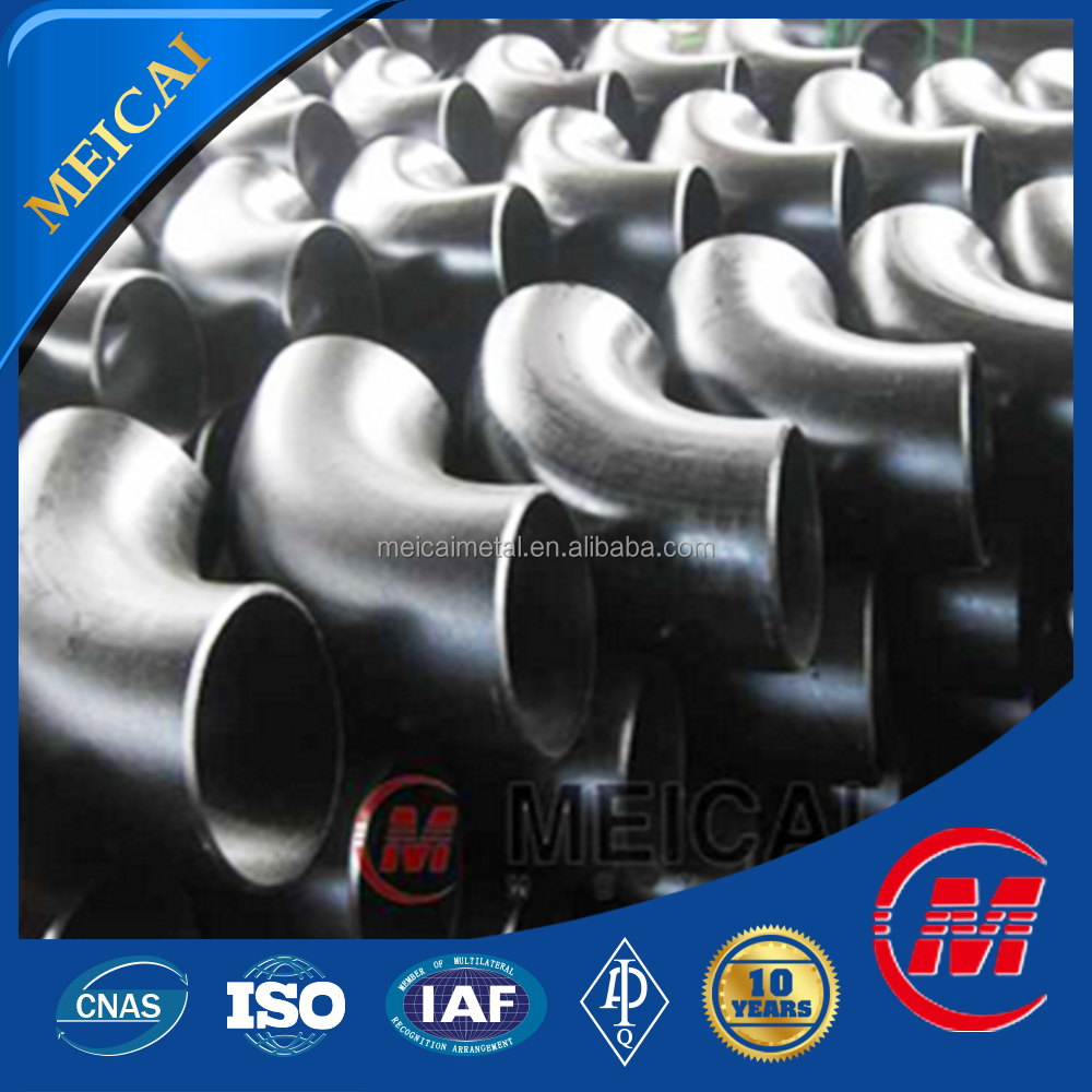China origin butt welded seamless pipe fitting