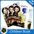 Saddle stitch christmas children story book printing