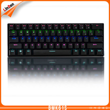 New Product Bluetooth+Wired Gaming Mechanical Keyboard with Backlight BMK61S