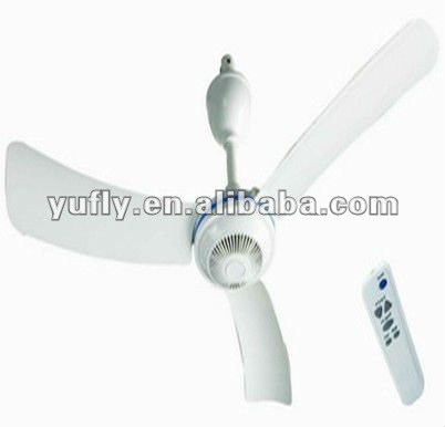 Hot sale brand home using 26W Electrical remote control battery charger rechargeable Ceiling Fan