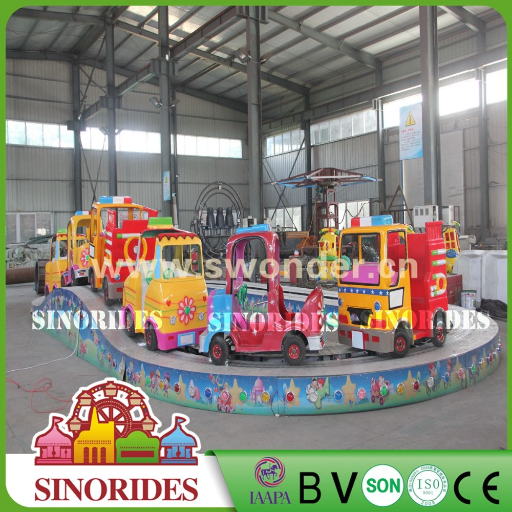 Kids Love New Attractions Convoy Race Kids Ride on Cars Shopping Mall Used