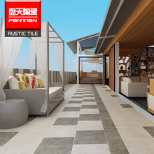 600x600 new design non slip outdoor tile Porcelain rustic marble outdoor tiles floor tile price in Pakistan