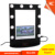 New style hollywood vanity mirror with lights, girls makeup artist stylist professional makeup mirror with video screen