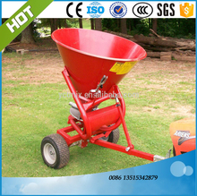 Tractor trailed fertilizer spreader ATV spreader lime spreader best selling