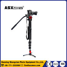 best price professional video camera tripod monopod Made In China In Low Price