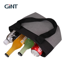 2018 fashion design bulk foldable lunch cooler bag