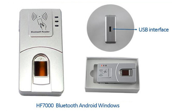 HF7000 Android Bluetooth Fingerprint Scanner