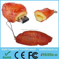 PVC Chicken Wings Shape USB Pendrive