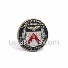 free sample cheap custom made gold silver metal challenge coin