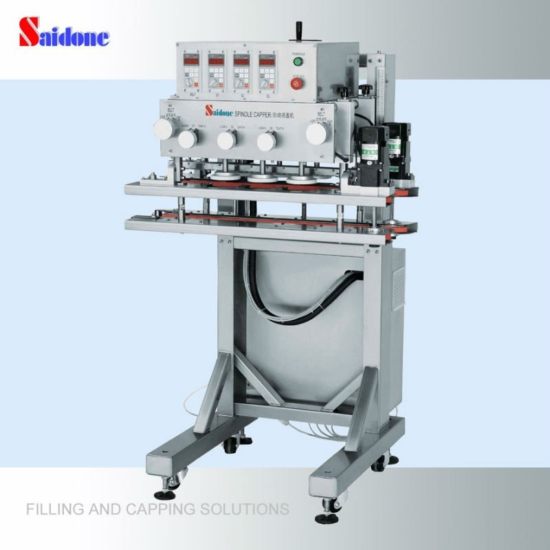 2017 hot sell semi-auto bottles capping machine shanghai