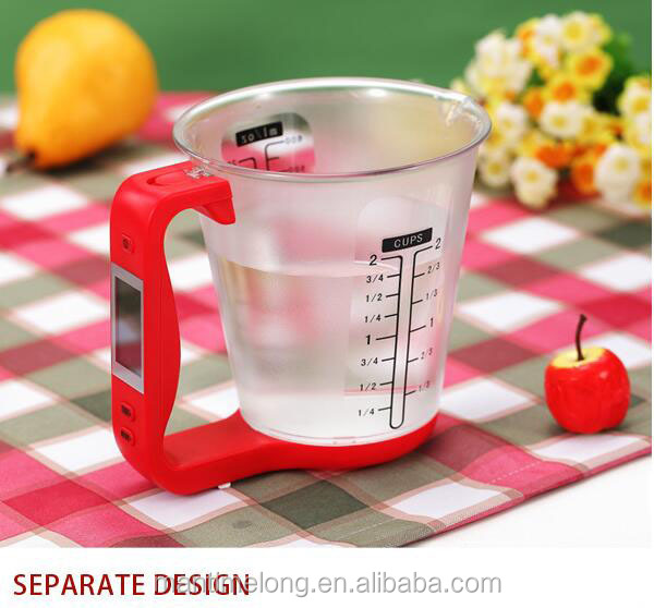2 in 1 multi function measuring cup sets glass measuring cup measuring drinking glass cup