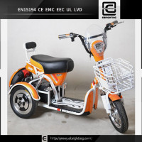 BRI-S10 Unfoldable handicapped 48v three wheel electric mobility scooter