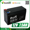 Bluesun valve regulated maintenance free 12v 7.5ah 7 amp battery